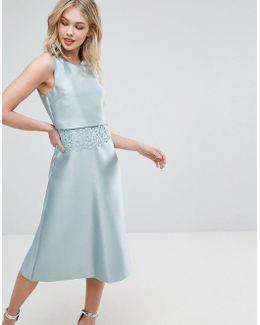 Lace 2 In 1 Dress