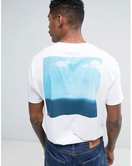 Relaxed T-shirt With Photographic Back Print