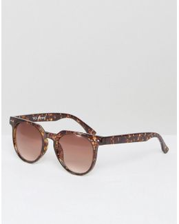 Actualize Round Sunglasses In Tortoise