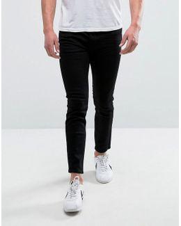Man Skinny Jeans In Black