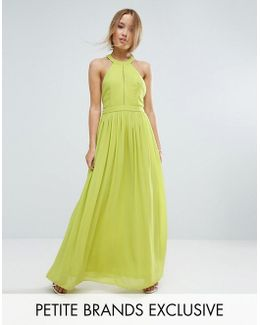 Td By Plunge Front Maxi Dress