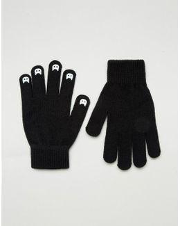 Glow In The Dark Cat Nail Gloves