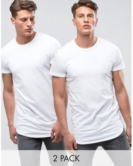 Core Exclusive Longline T-shirt Multi Pack Save