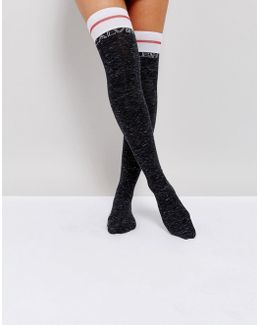Modern Cotton Over The Knee Sock