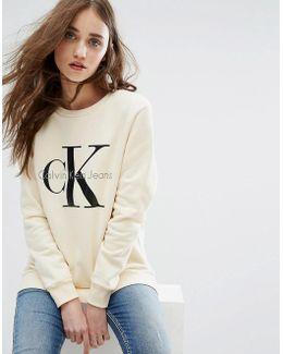 Jeans Logo Sweatshirt