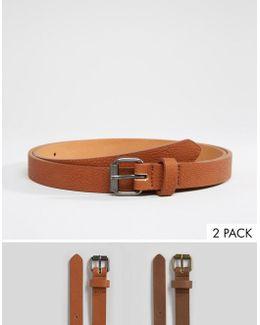 Skinny Belt 3 Pack Save