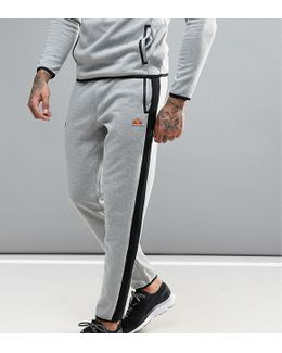 Sport Joggers With Panels In Skinny Fit