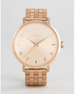 Rose Gold Kensington Watch