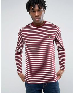 Ls Crew Neck Bretton Stripe Tshirt