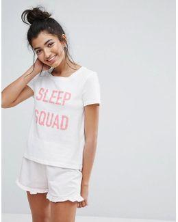 Sleep Squad Pjyama T-shirt