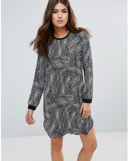 Dolly Long Sleeved Shift Dress