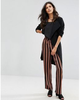 Libby Striped Wide Leg Trousers