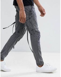 M65 Classic Cargo Pants With Removable Ties