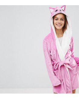 Novelty Cat Robe