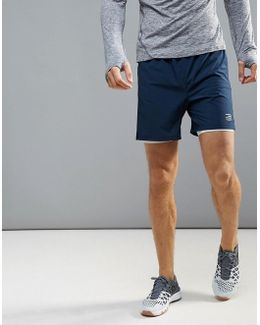 Tech Running Shorts With Base Layer