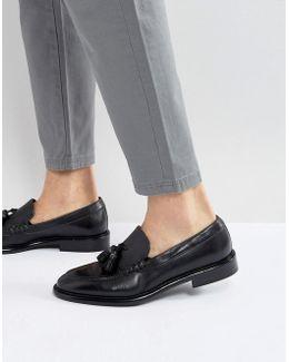 Omarr Tassel Loafers In Black
