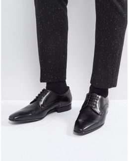 Roth Derby Lace Up Shoes In Black