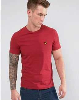Garment Dye T-shirt Red
