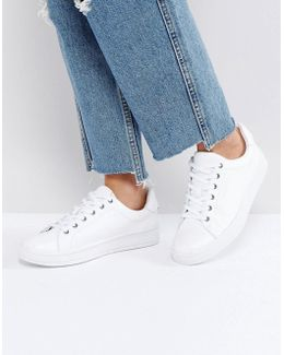 Black Label Solange Clean White Sneakers