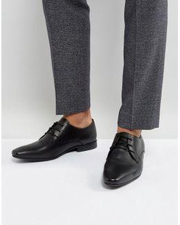 Kg By Kurt Geiger Kendall Derby Shoes Black Leather