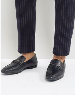 Kg By Kurt Geiger Melton Loafers In Navy Suede