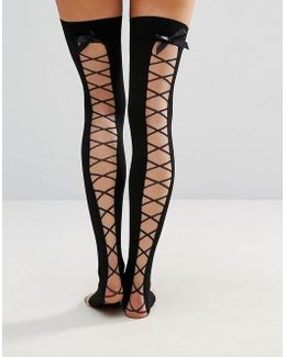 Lace Up Over The Knee