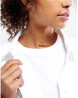 Toggle Choker Necklace