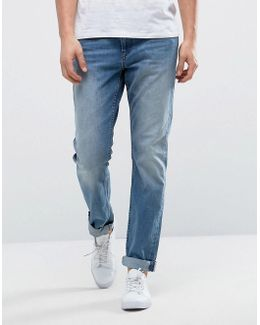 Slim Fit Jean With Rips