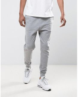 Tapered Joggers In Grey Marl