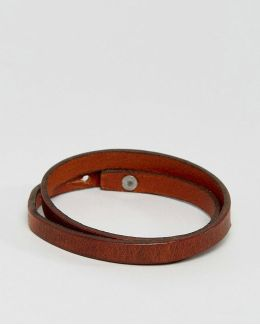Jacbrian Layered Bracelet In Brown