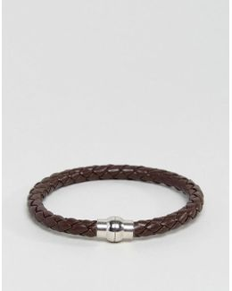 Jackrick Clasp Bracelet In Brown