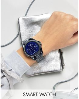 Mkt5006 Navy Tone Smart Watch