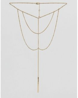 Matilda Multilayer Bar Necklace
