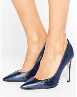 Pointed Toe High Heel Court Shoe