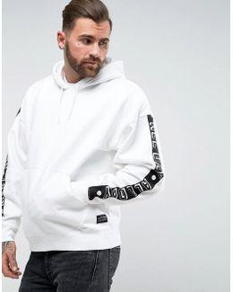 Oversized Hoody Sleeve Print