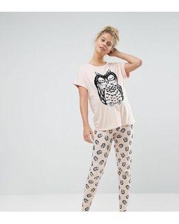 Owl Pj Set
