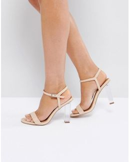 Hansel Clear Heeled Sandals