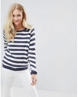 Lola Pu Striped Sweater