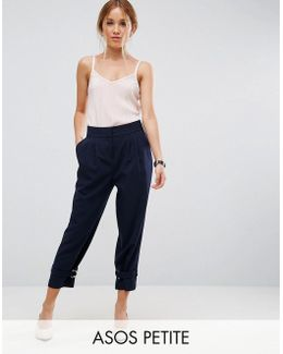 Tapered Pant With Strapping D Ring Ankle Detail