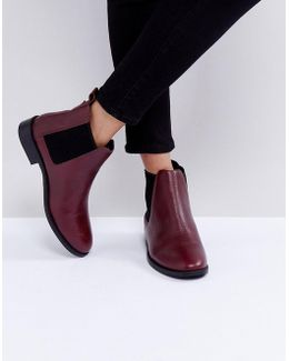 Binky Leather Chelsea Boots
