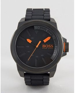 New York Bracelet Watch In Black