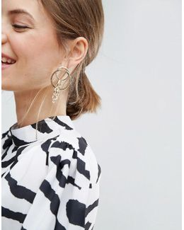 Statement Interlinking Hoop Earrings