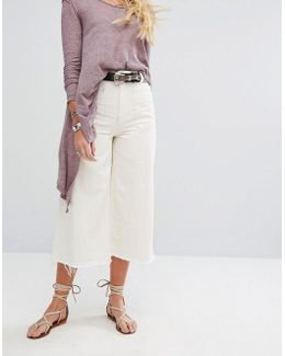 Dawn To Dusk Cropped Flare Jeans