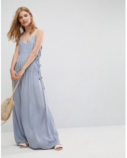 ASOS Drawstring Maxi Dress