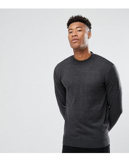 Tall Cotton Turtle Sweater
