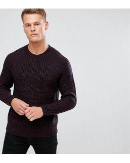 Tall Space Twist Sweater