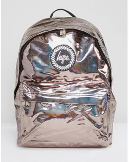 Coffee Holographic Backpack