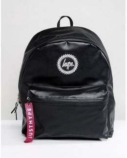 Exclusive Rubberised Jet Black Backpack