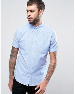 Plain Regular Fit Oxford Shirt