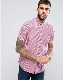 Gingham Regular Fit Check Shirt